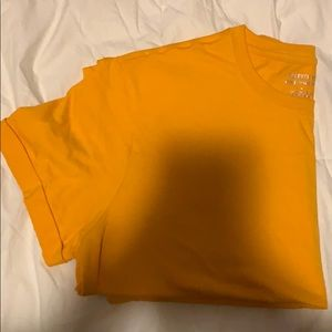 Forever 21 orange boyfriend Tee